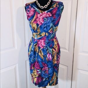 Special Effects floral vintage style dress
